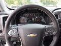 Jet Black Steering Wheel Photo for 2017 Chevrolet Silverado 1500 #115543097