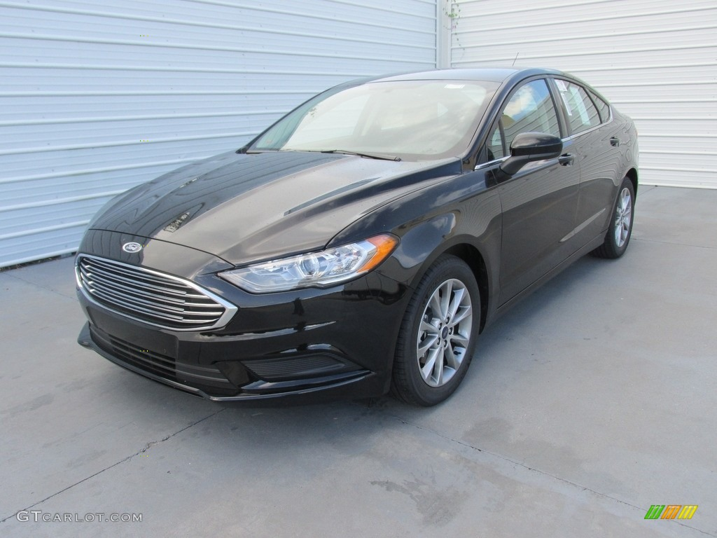 2017 Fusion SE - Shadow Black / Ebony photo #7