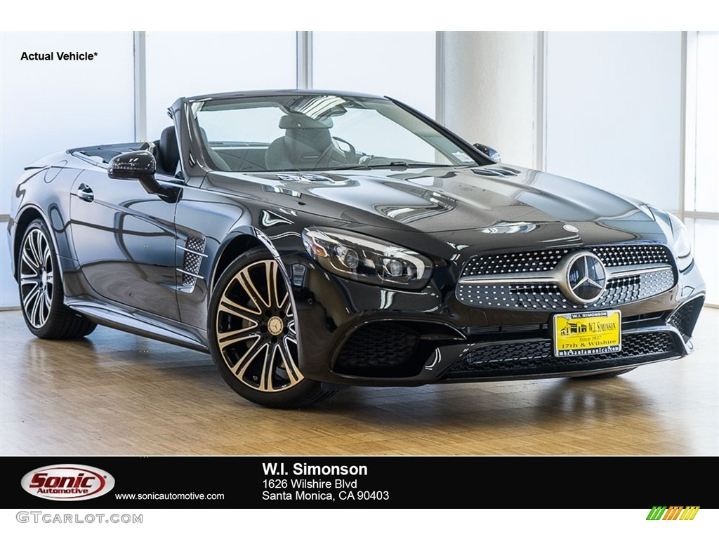 2017 black mercedes benz sl 450 roadster 115535412 for Mercedes benz 450