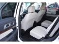 2017 Ford Explorer Medium Soft Ceramic Interior Rear Seat Photo