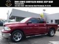 2012 Flame Red Dodge Ram 1500 SLT Crew Cab 4x4 #115563304