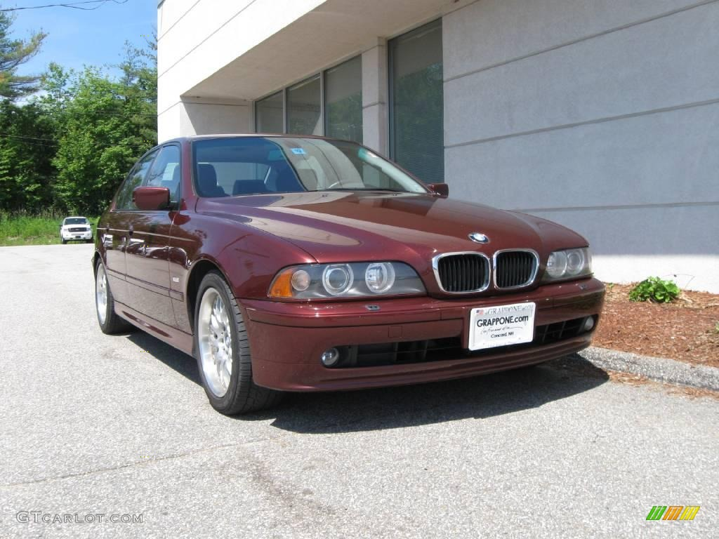 2001 Siena Red Metallic Bmw 5 Series 530i Sedan 11548609