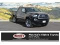 2017 Black Toyota Tacoma Limited Double Cab 4x4 #115563025