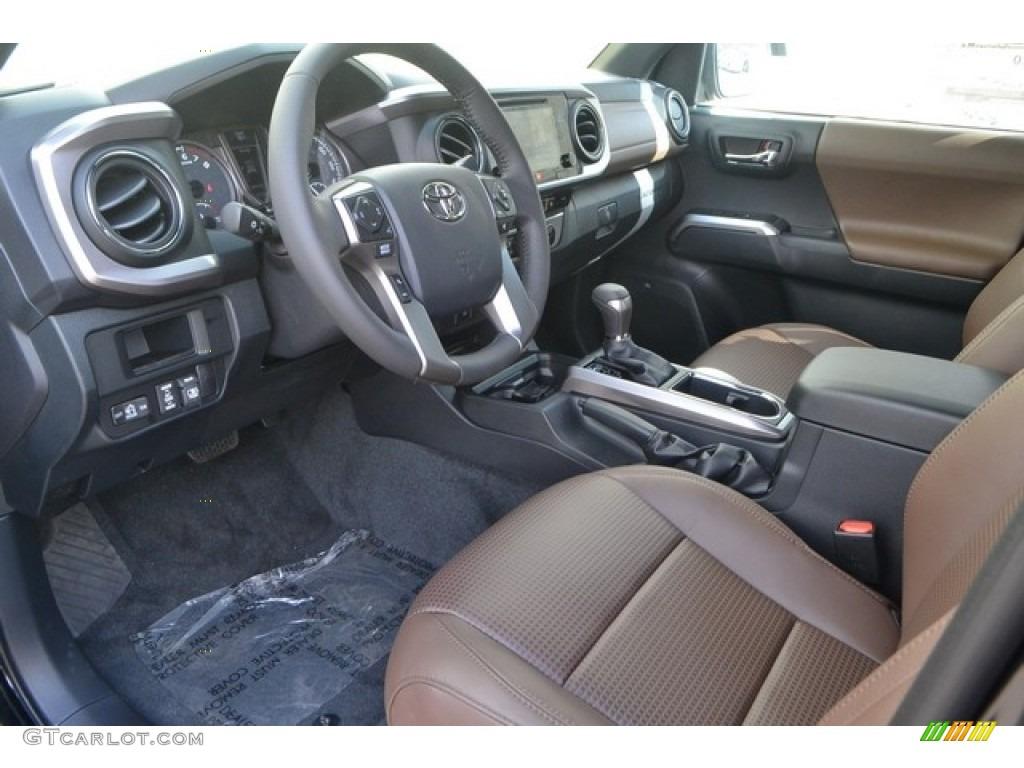 Limited Hickory Interior 2017 Toyota Tacoma Double Cab 4x4 Photo 115580747