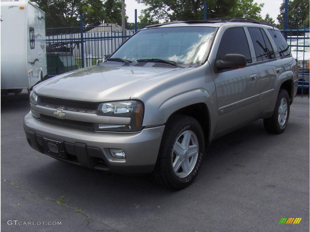 2002 chevrolet trailblazer ltz 4x4 light pewter metallic color. Cars Review. Best American Auto & Cars Review