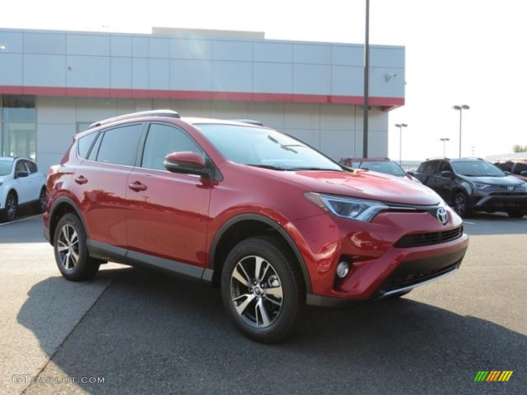 2016 barcelona red metallic toyota rav4 xle 115563225 car color galleries. Black Bedroom Furniture Sets. Home Design Ideas