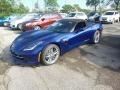 Admiral Blue 2017 Chevrolet Corvette Stingray Convertible