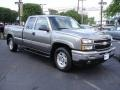 2006 Graystone Metallic Chevrolet Silverado 1500 Z71 Extended Cab 4x4  photo #2