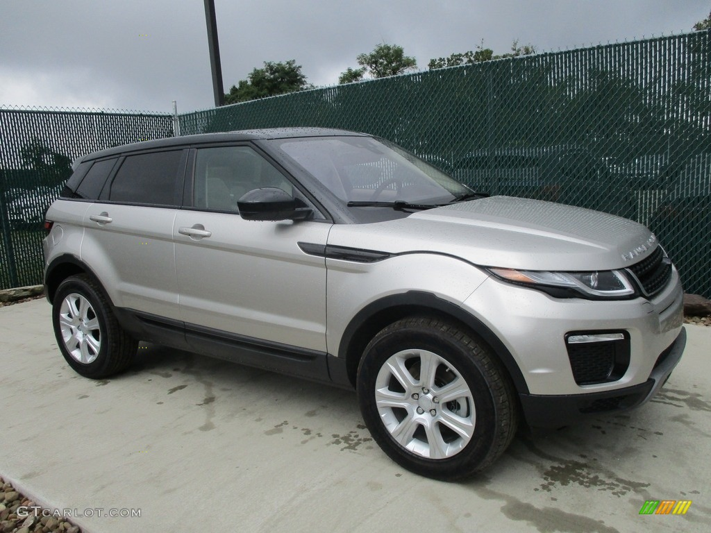Aruba Metallic Land Rover Range Evoque