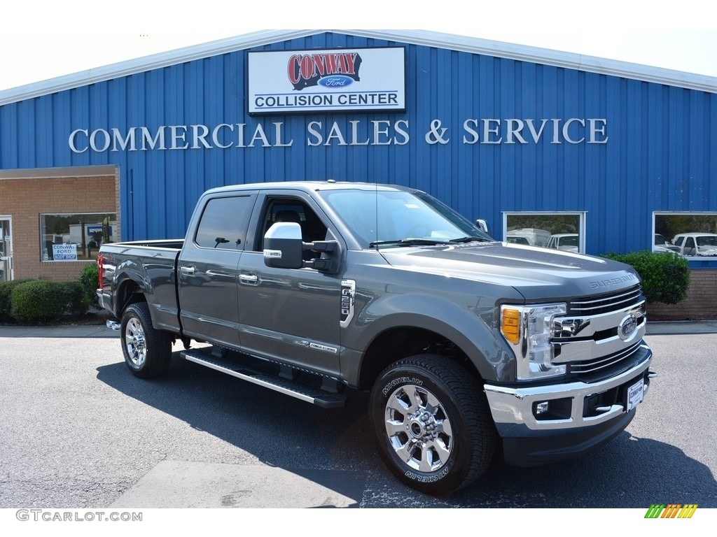 2017 magnetic ford f250 super duty lariat crew cab 4x4 115591128 car color. Black Bedroom Furniture Sets. Home Design Ideas