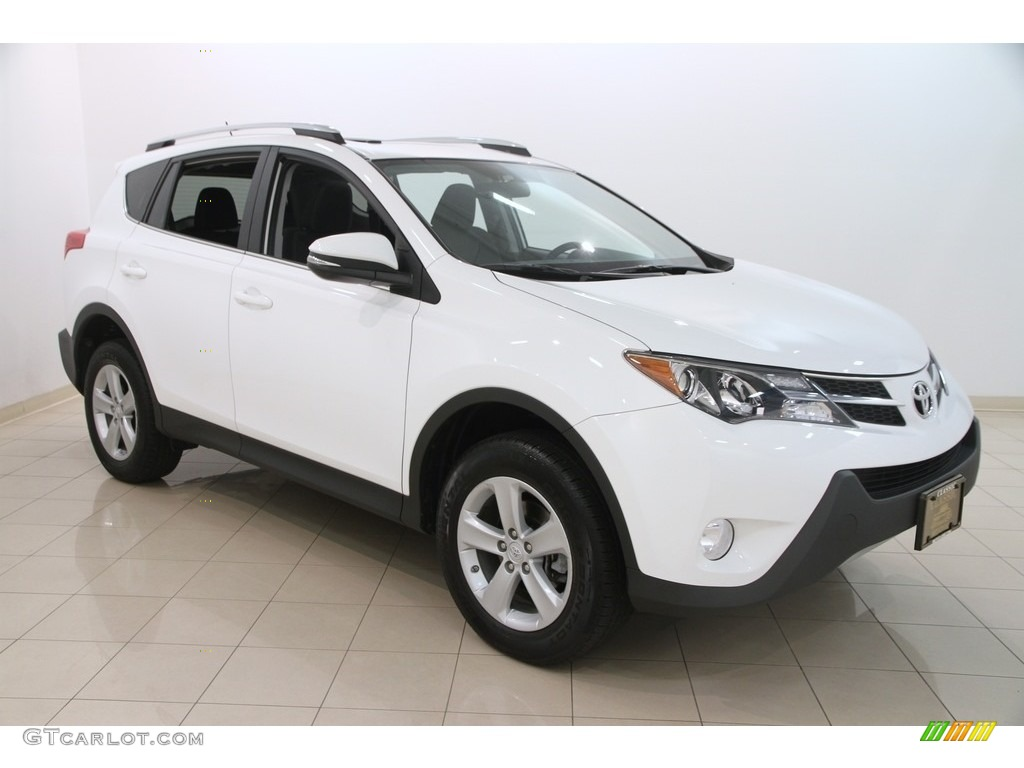 2014 super white toyota rav4 xle awd 115591182 photo 17. Black Bedroom Furniture Sets. Home Design Ideas