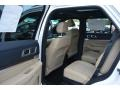 Medium Light Camel 2017 Ford Explorer Limited 4WD Interior Color