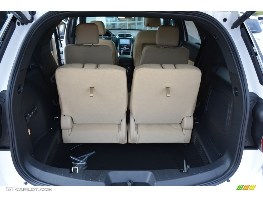 2017 Ford Explorer Limited 4WD Trunk Photo #115606291