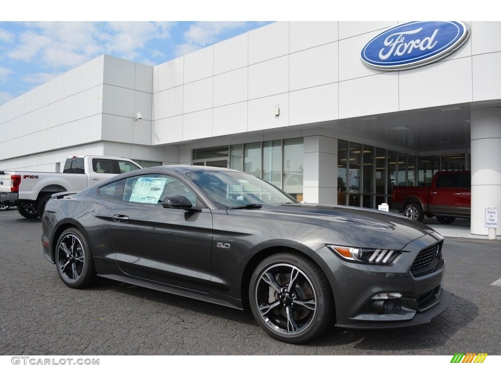 2016 magnetic metallic ford mustang gt cs california. Black Bedroom Furniture Sets. Home Design Ideas