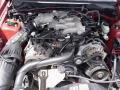 2001 Laser Red Metallic Ford Mustang V6 Coupe  photo #19
