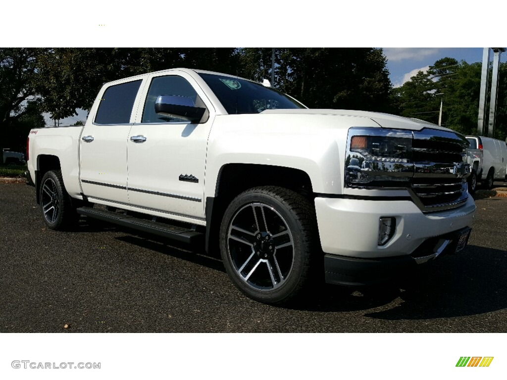 2017 iridescent pearl tricoat chevrolet silverado 1500 high country crew cab 4x4 115590856. Black Bedroom Furniture Sets. Home Design Ideas