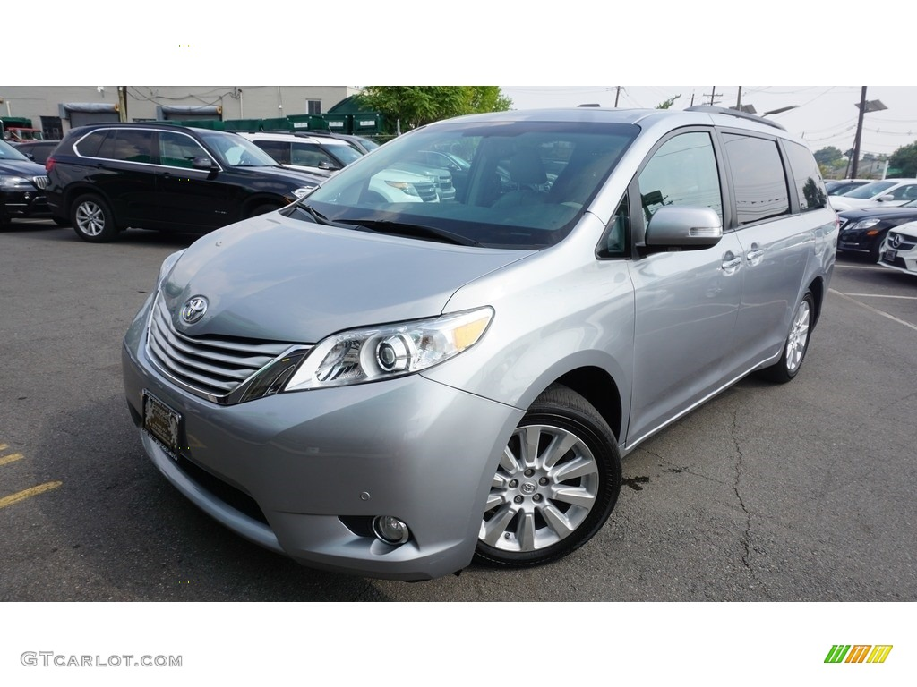 2013 silver sky metallic toyota sienna limited awd 115618522 photo 14 car. Black Bedroom Furniture Sets. Home Design Ideas
