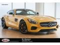 AMG Solarbeam Yellow Metallic 2016 Mercedes-Benz AMG GT S Coupe