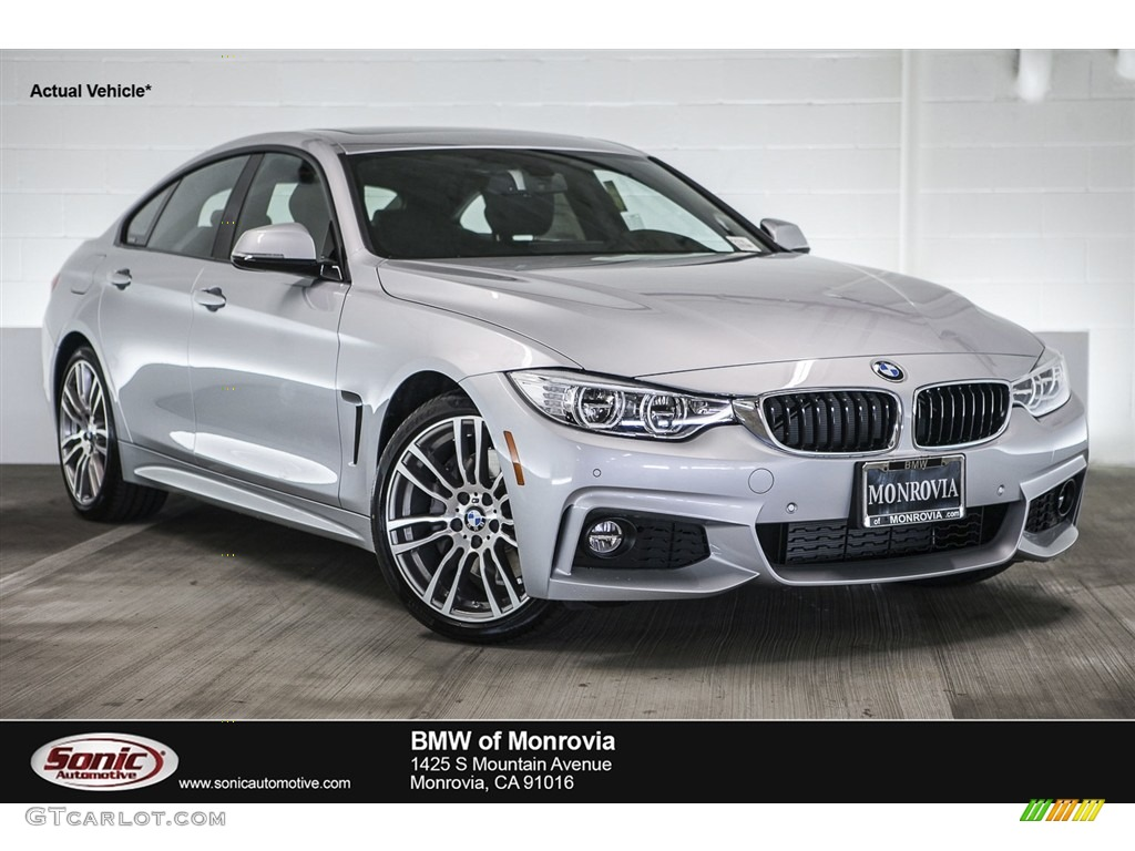 2017 Glacier Silver Metallic Bmw 4 Series 430i Gran Coupe
