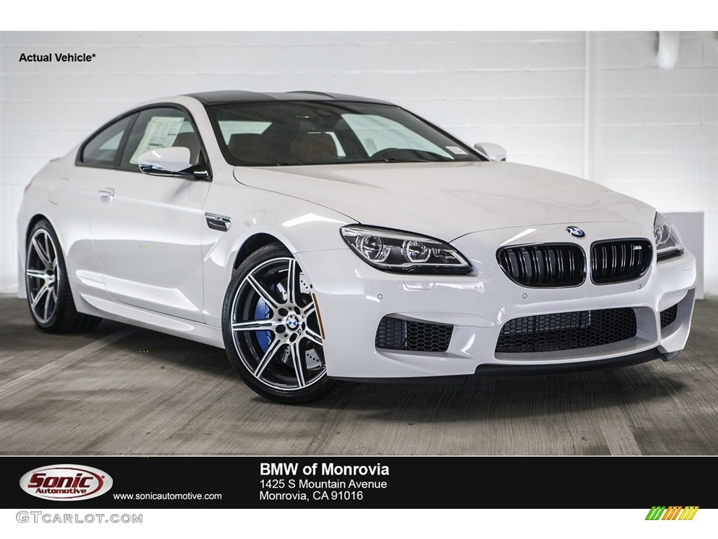 2017 Alpine White Bmw M6 Coupe 115632455