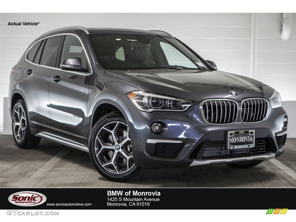 2017 mineral grey metallic bmw x1 sdrive28i 115632460 car color galleries. Black Bedroom Furniture Sets. Home Design Ideas