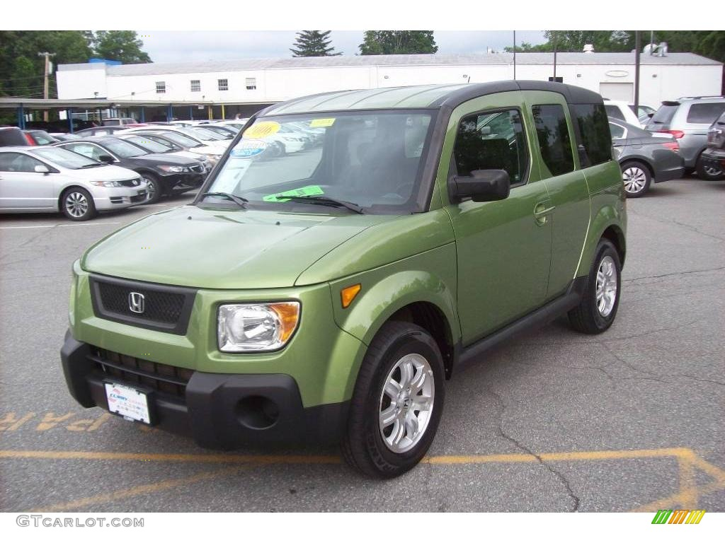 2006 kiwi metallic honda element ex p awd 11550746. Black Bedroom Furniture Sets. Home Design Ideas