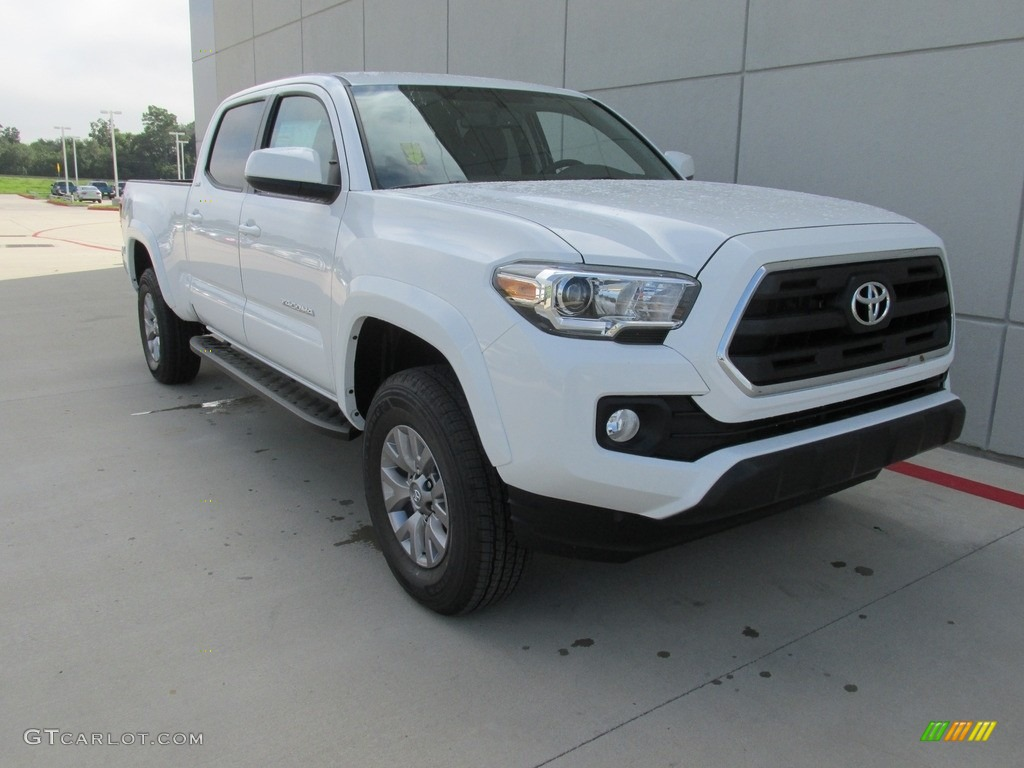 2017 super white toyota tacoma sr5 double cab 115637933 photo 19 car color. Black Bedroom Furniture Sets. Home Design Ideas