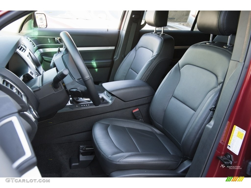 2017 Ford Explorer XLT 4WD Front Seat Photo #115651649