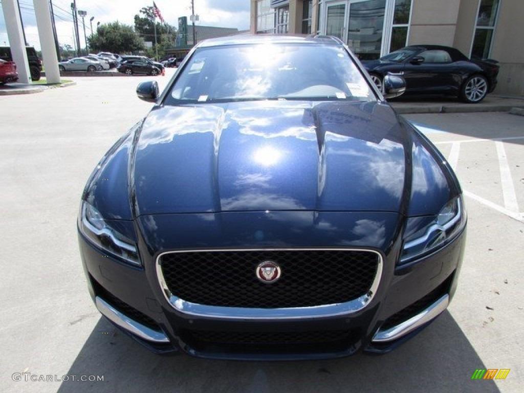 2017 dark sapphire blue jaguar xf 35t prestige 115638128 photo 12 car color. Black Bedroom Furniture Sets. Home Design Ideas