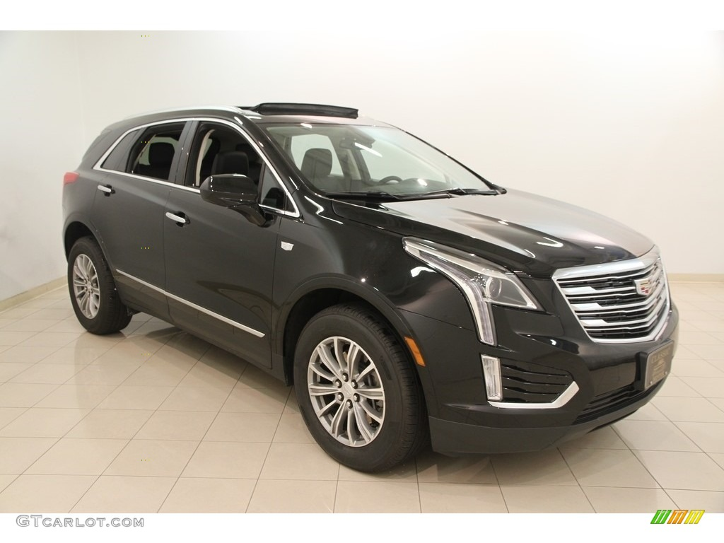 2017 Stellar Black Metallic Cadillac Xt5 Luxury 115638124 Car Color Galleries