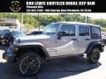 2016 Billet Silver Metallic Jeep Wrangler Unlimited Sport 4x4  photo #1