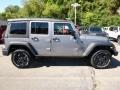 2016 Billet Silver Metallic Jeep Wrangler Unlimited Sport 4x4  photo #7