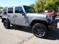 2016 Billet Silver Metallic Jeep Wrangler Unlimited Sport 4x4  photo #8