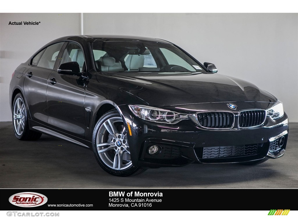 2017 black sapphire metallic bmw 4 series 430i gran coupe. Black Bedroom Furniture Sets. Home Design Ideas