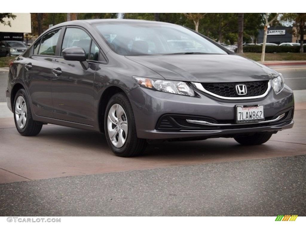 2015 modern steel metallic honda civic lx sedan 115661852 for Honda civic modern steel