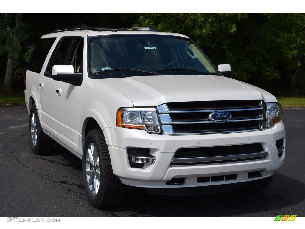 2017 White Platinum Ford Expedition El Limited 4x4 115662000 Car Color Galleries