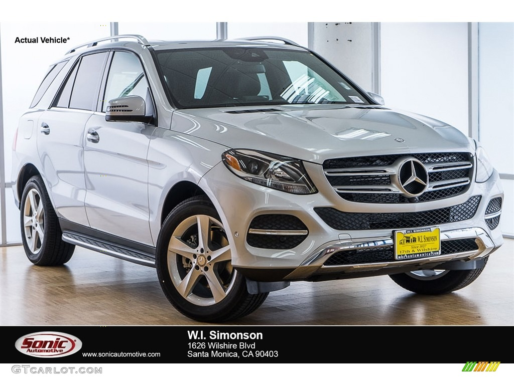 2017 iridium silver metallic mercedes benz gle 350 for Mercedes benz silver