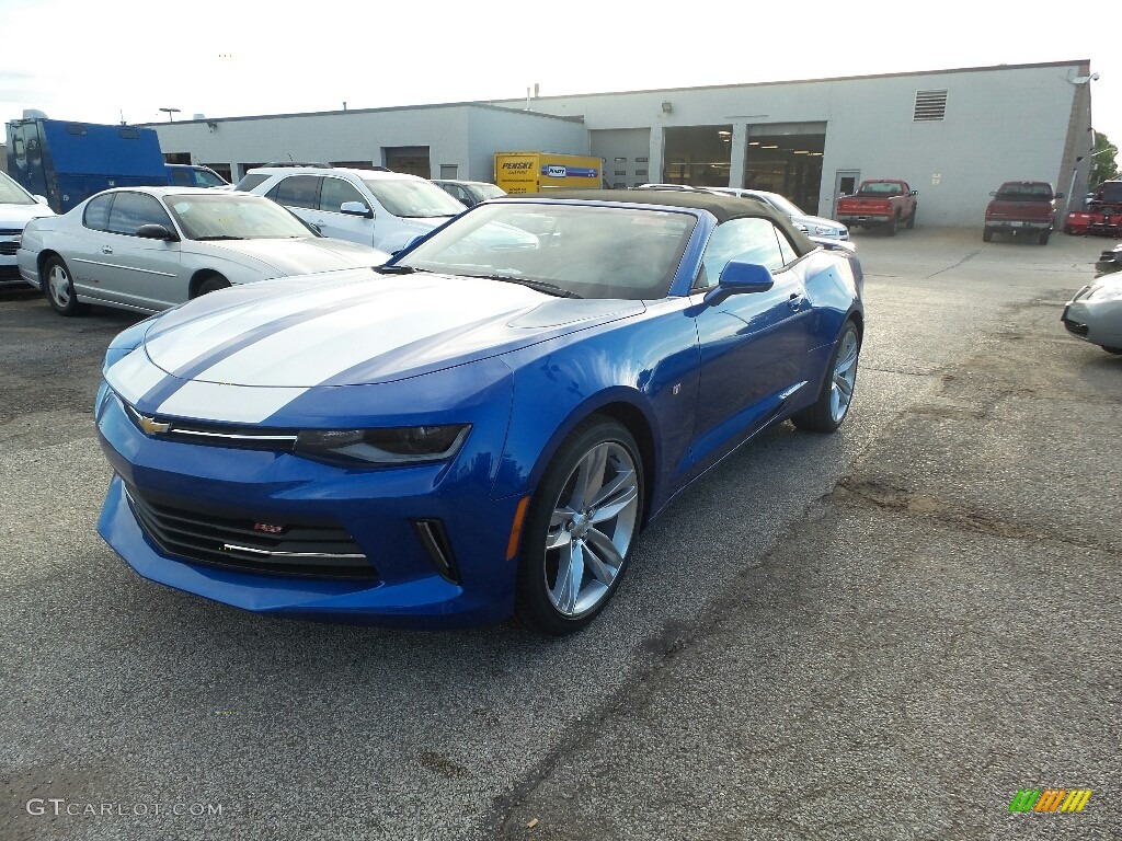 2017 Hyper Blue Metallic Chevrolet Camaro LT Convertible ...