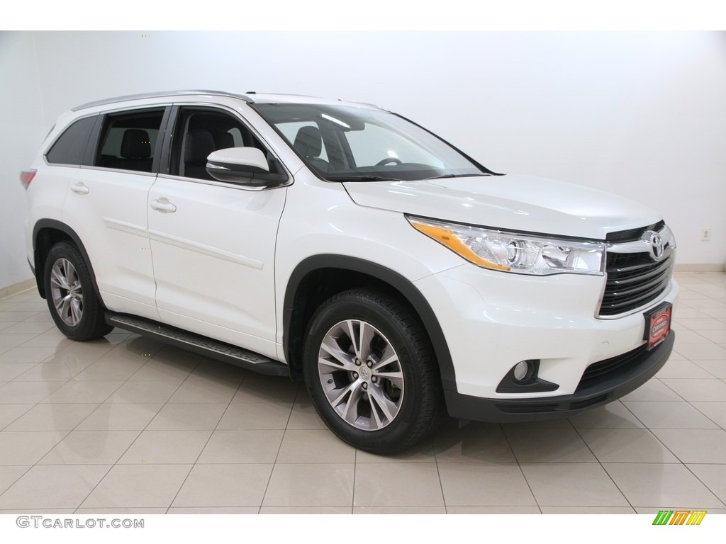 2014 blizzard white pearl toyota highlander xle awd 115698506 photo 21 car. Black Bedroom Furniture Sets. Home Design Ideas