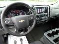 Jet Black Dashboard Photo for 2017 Chevrolet Silverado 1500 #115704039