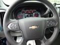Jet Black Steering Wheel Photo for 2017 Chevrolet Silverado 1500 #115704066