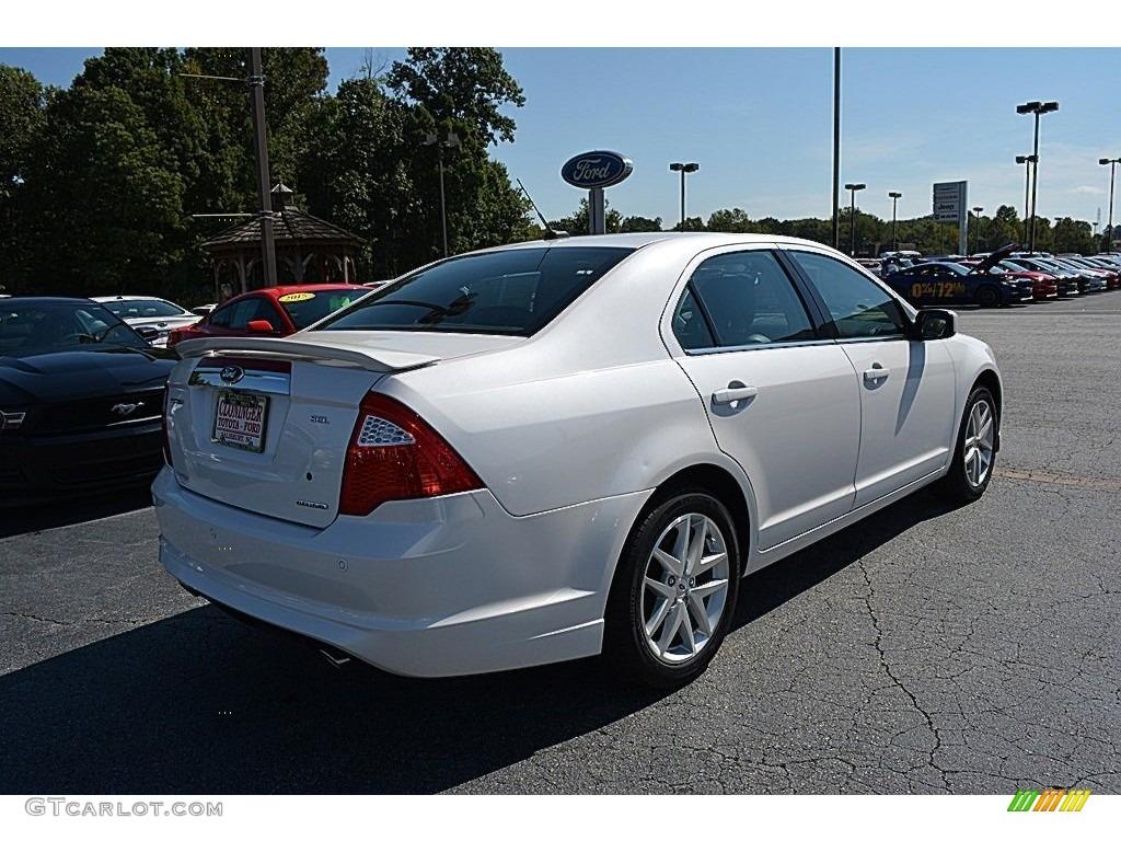 2012 white platinum tri coat ford fusion sel v6 115698383 photo 3 car color. Black Bedroom Furniture Sets. Home Design Ideas