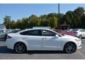 2013 Oxford White Ford Fusion Titanium AWD  photo #2