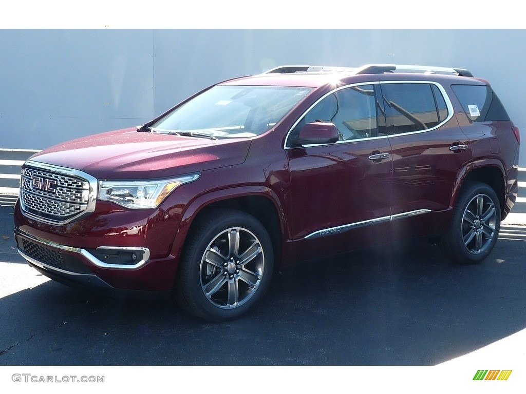 2017 crimson red tintcoat gmc acadia denali awd 115720808 photo 2 car color. Black Bedroom Furniture Sets. Home Design Ideas