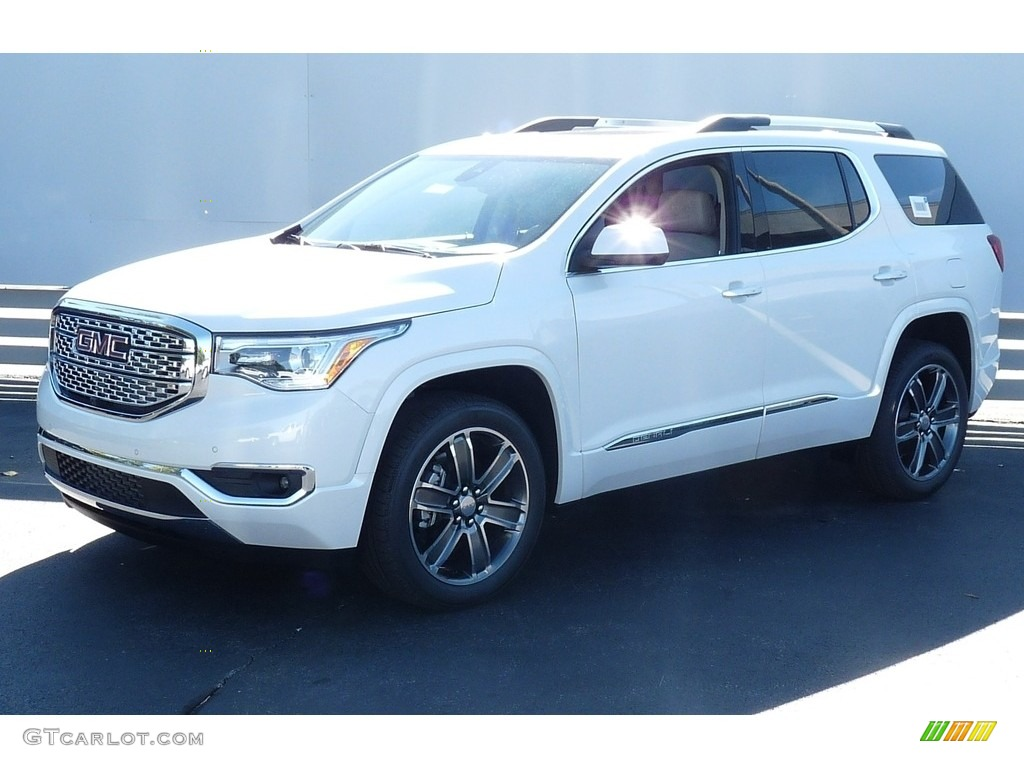 2017 white frost tricoat gmc acadia denali awd 115720807 car color galleries. Black Bedroom Furniture Sets. Home Design Ideas
