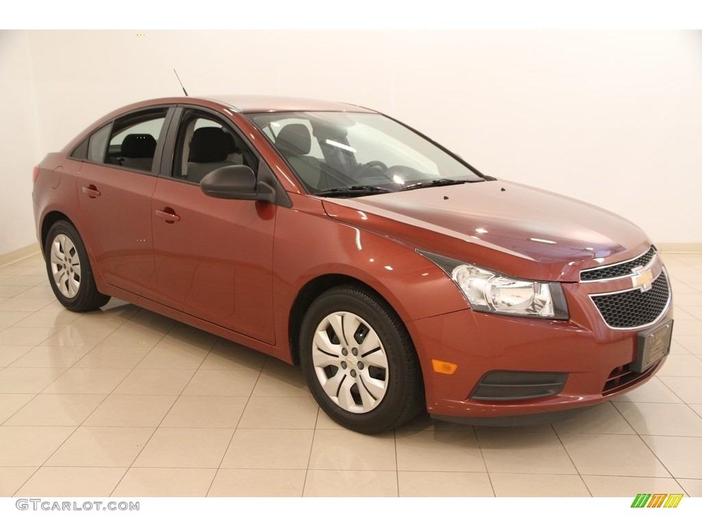 2013 Autumn Metallic Chevrolet Cruze Ls 115720787 Car Color Galleries