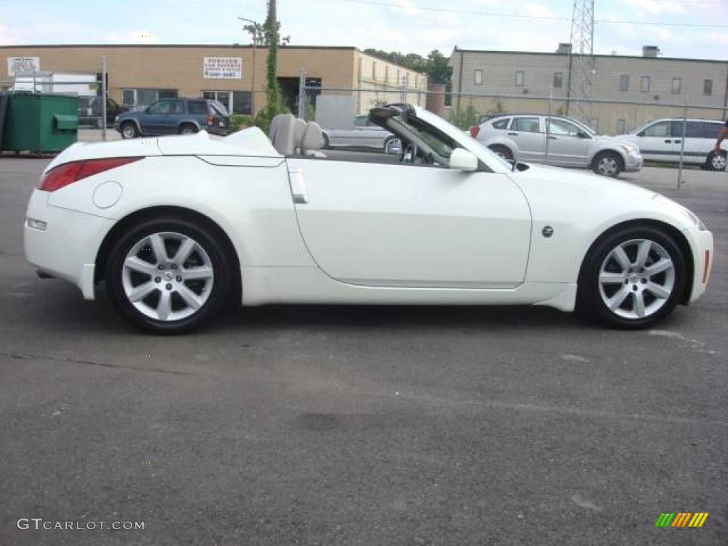 2005 350z Touring Roadster Pikes Peak White Pearl Frost Photo 5
