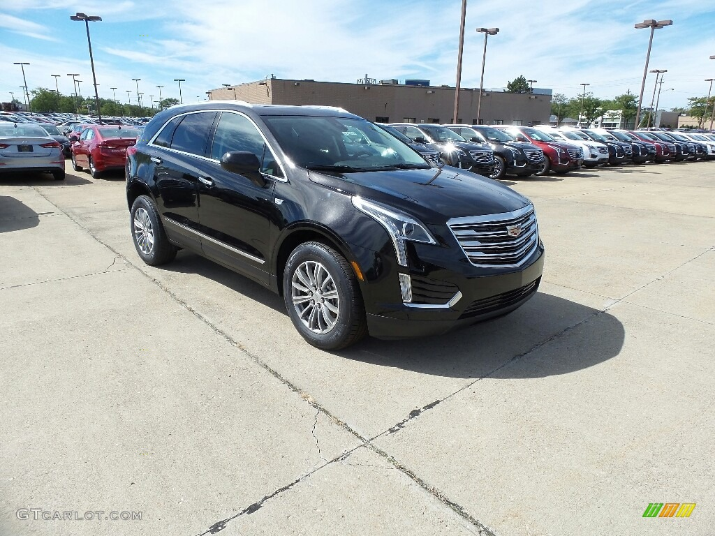 2017 Stellar Black Metallic Cadillac Xt5 Luxury Awd 115721265 Car Color Galleries