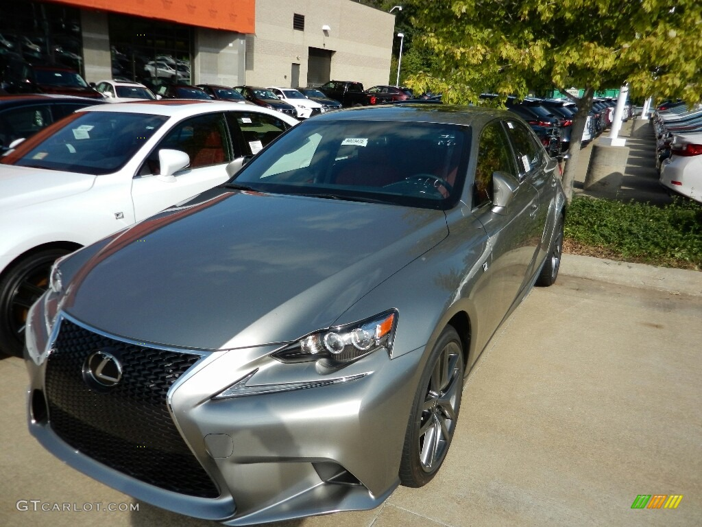 2016 Atomic Silver Lexus Is 350 F Sport Awd 115759093 Car Color Galleries