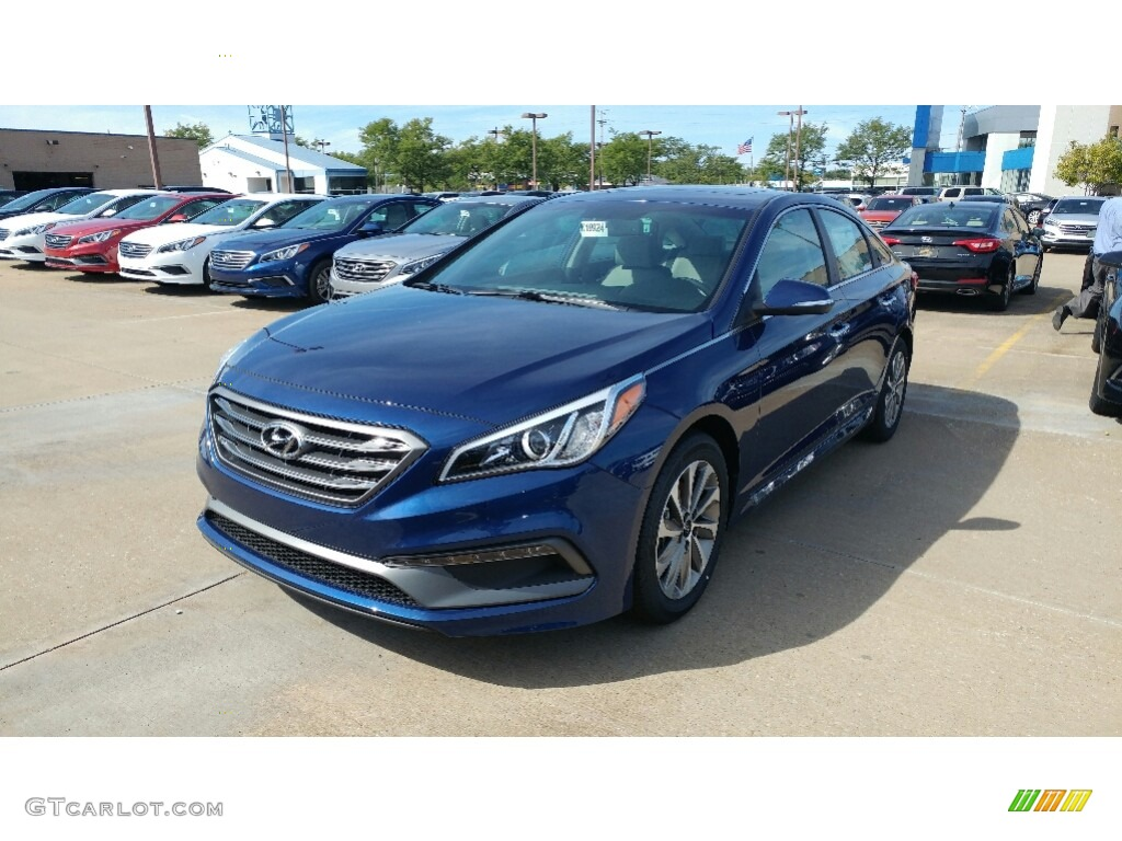 Lakeside Blue Sonata Hyundai
